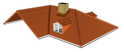 Výpočet střechy
